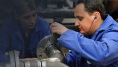Métallier charpentier dans l'industrie