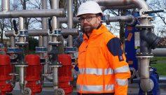 Damien Foucher, dirigeant de l'entreprise STIM Fluide